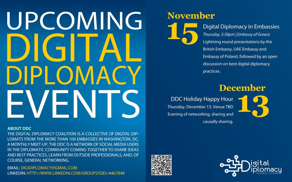 Digital diplomacy in embassies digital diplomacy coalition for Consul best practices